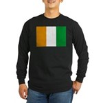 Cote d' Ivoire Long Sleeve Dark T-Shirt