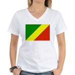 Congo Women's V-Neck T-Shirt