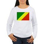 Congo Women's Long Sleeve T-Shirt