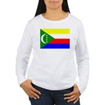 Comoros Women's Long Sleeve T-Shirt
