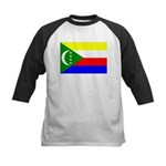 Comoros Kids Baseball Jersey