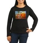 Room / Golden Women's Long Sleeve Dark T-Shirt