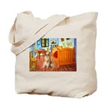 Room / Golden Tote Bag