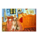 Room / Golden Postcards (Package of 8)