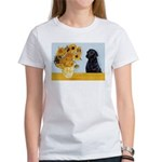Sunflowers / Lab Women's T-Shirt