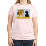Sunflowers / Lab Women's Light T-Shirt