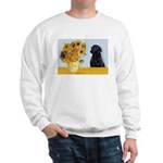 Sunflowers / Lab Sweatshirt