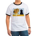 Sunflowers / Lab Ringer T