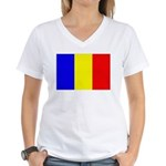 Chad Women's V-Neck T-Shirt
