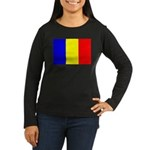 Chad Women's Long Sleeve Dark T-Shirt