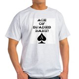 Ace of Spades Baby Ash Grey T-Shirt