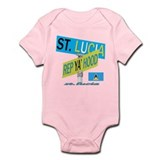 REP ST. LUCIA Onesie