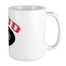 Proud PopPop (black & red) Mug