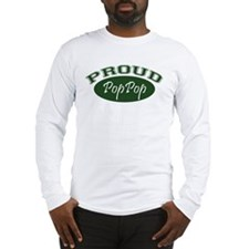 Proud PopPop (green) Long Sleeve T-Shirt