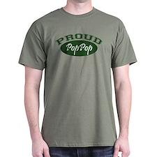 Proud PopPop (green) T-Shirt