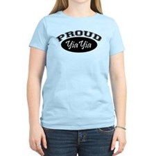 Proud YiaYia (black) T-Shirt