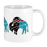 Great Bison #2 Small Mugs