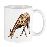 Giraffe African Wildlife Small Mug