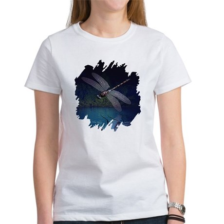 Dragonfly at Night Women's T-Shirt
