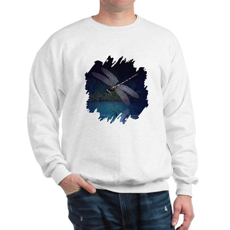 Dragonfly at Night Sweatshirt