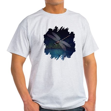 Dragonfly at Night Light T-Shirt