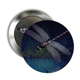 Dragonfly at Night 2.25&quot; Button (100 pack)