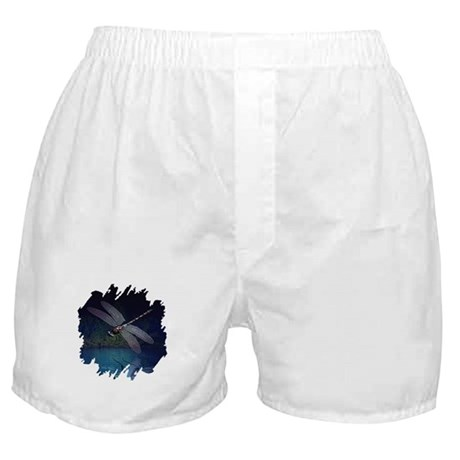 Dragonfly at Night Boxer Shorts