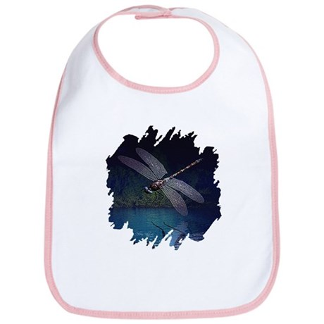 Dragonfly at Night Bib