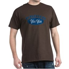 Proud YiaYia (blue) T-Shirt