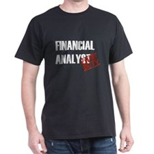 Off Duty Financial Analyst T-Shirt