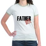 Off Duty Father Jr. Ringer T-Shirt