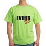 Off Duty Father Green T-Shirt