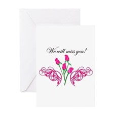 Cute Farewell Greeting Card
