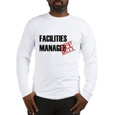 Off Duty Facilities Manager Long Sleeve T-Shirt