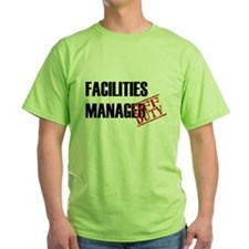 Off Duty Facilities Manager T-Shirt