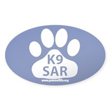 K9 SAR Decal
