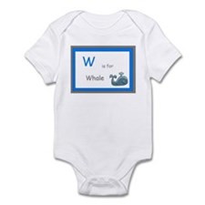 W is for Whale Infant Bodysuit
