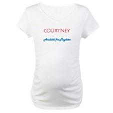 Courtney - Available For Play Shirt