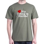 My Hubby is a Hottie Dark T-Shirt