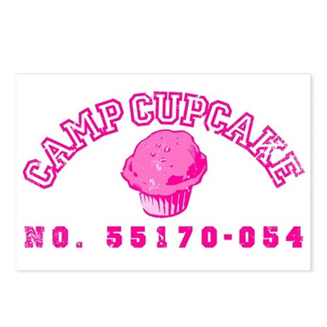 Camp Cupcake Postcards (Package of 8)