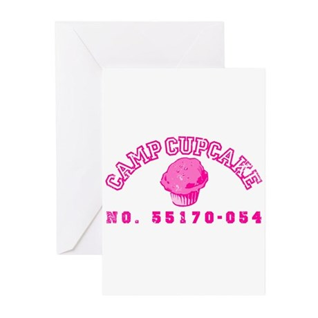 Camp Cupcake Greeting Cards (Pk of 10)