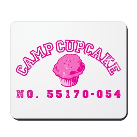 Camp Cupcake Mousepad