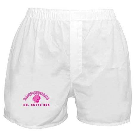 Camp Cupcake Boxer Shorts