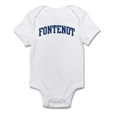 FONTENOT design (blue) Infant Bodysuit