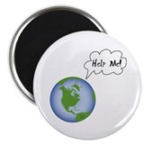 Help The Earth Circle Magnet