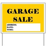 Garage Sale Yard Sign