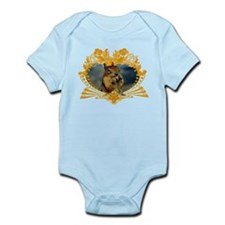 Squirrely Squirrel Crest Infant Bodysuit