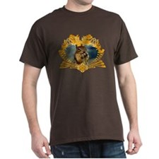 Squirrely Squirrel Crest T-Shirt