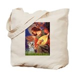 Angel 3 - Yorkshire Terrier Tote Bag