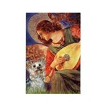 Angel 3 - Yorkshire Terrier Rectangle Magnet